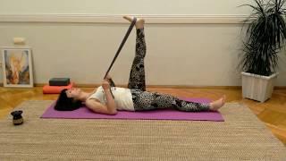 Yoga pentru dureri de spate cu Mirela Ivaz