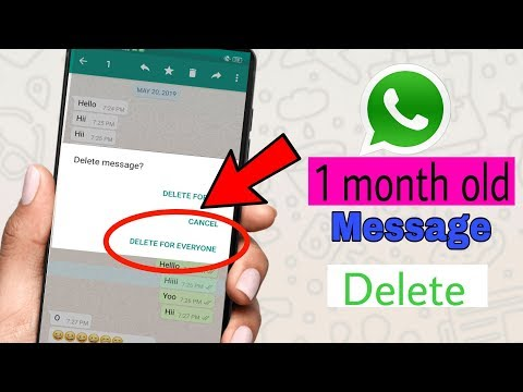 How To Delete Very Old Messages In Whatsapp