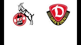 1. FC Köln - Dynamo Dresden 8:1   Reaktionen aus Dresden