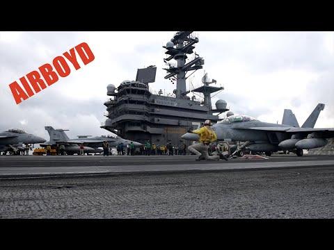 Carrier Air Wing Five Fly-Off USS Ronald Reagan (CVN-76)