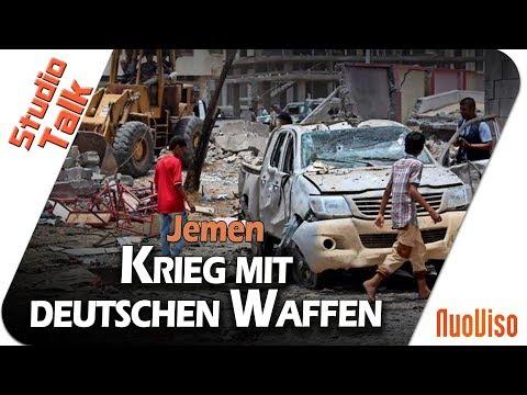 Jemenkrieg: Warum die deutsche Politik sich mitschuldig macht - Mathias Tretschog im NuoViso Talk