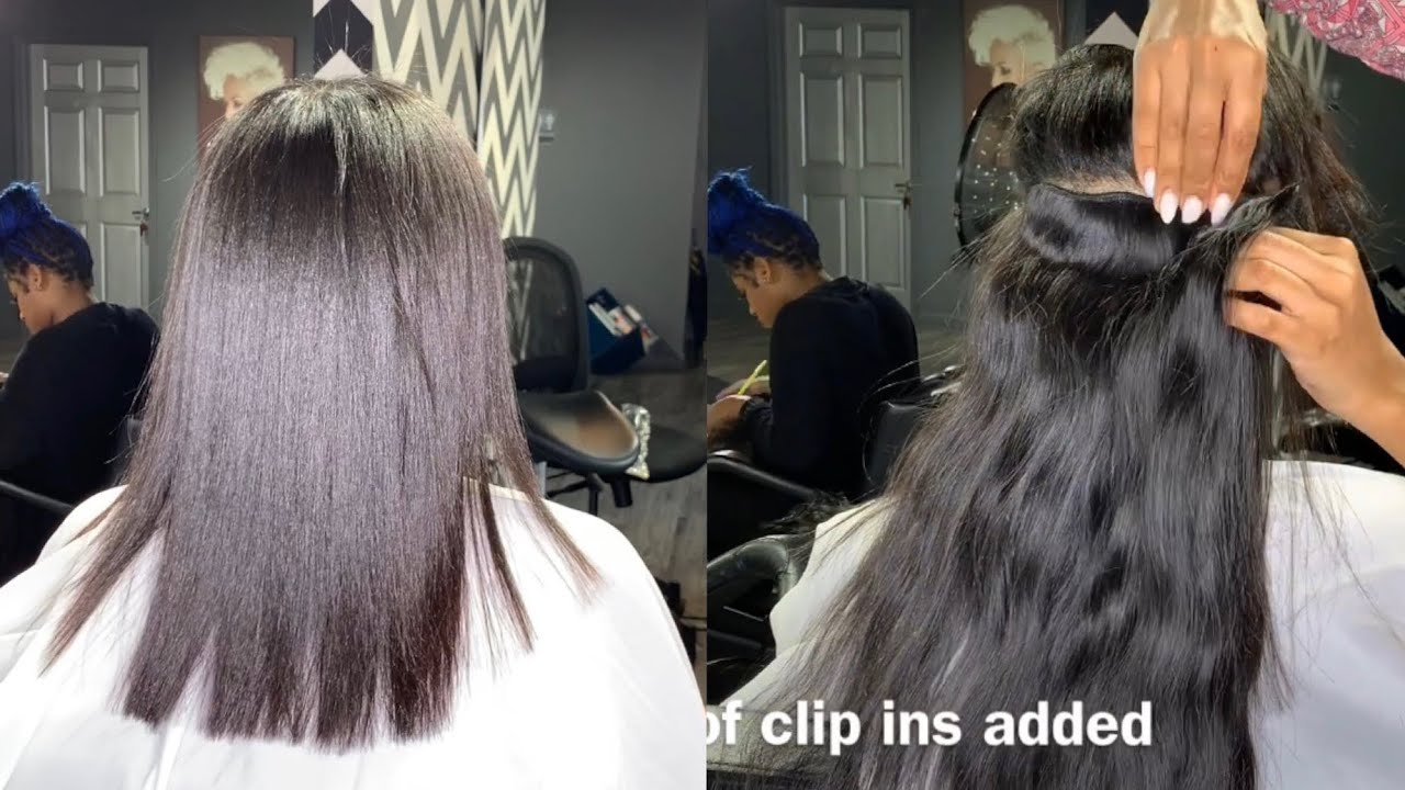DIY add length and fullness to your natural hair