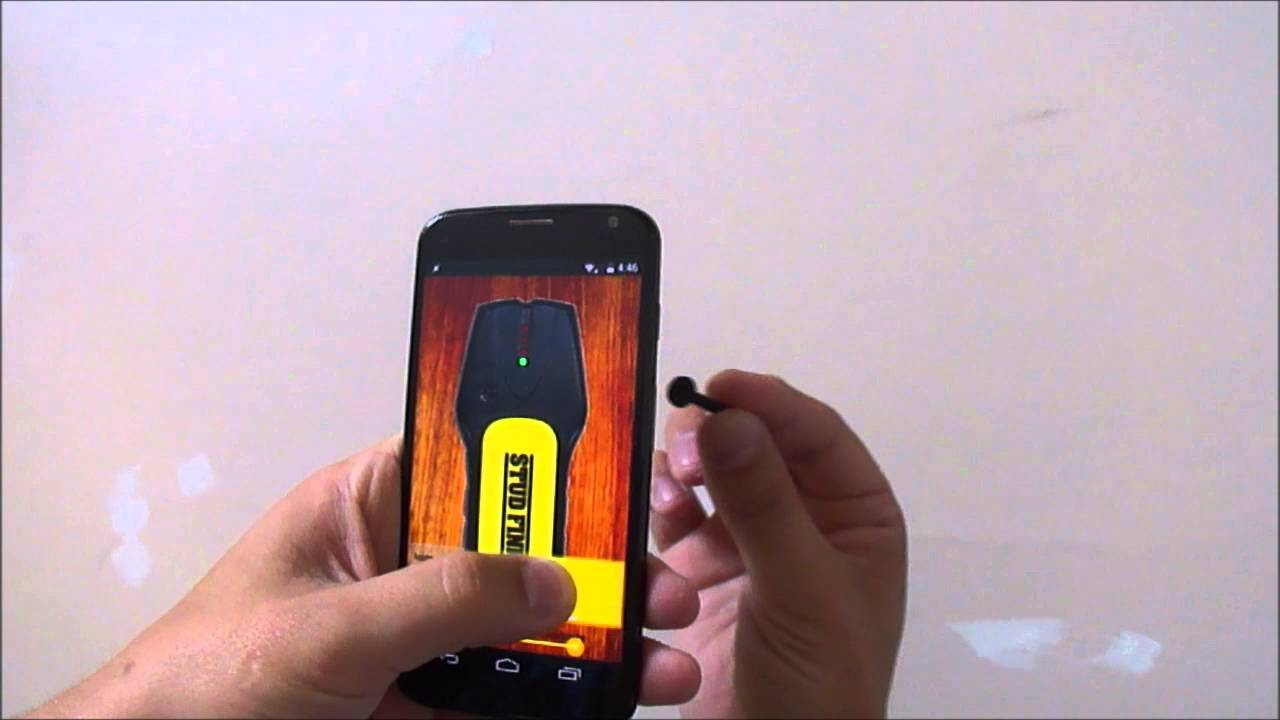 Stud Finder App For Iphone And Android Youtube