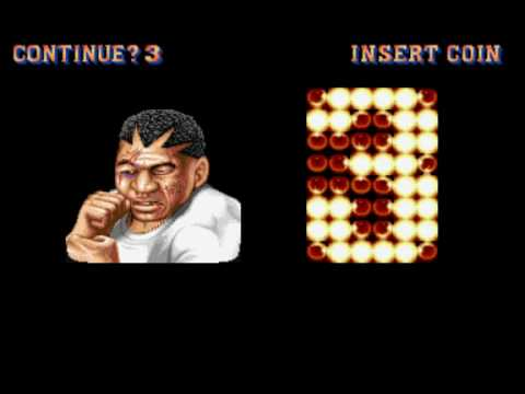 street fighter 2 game over