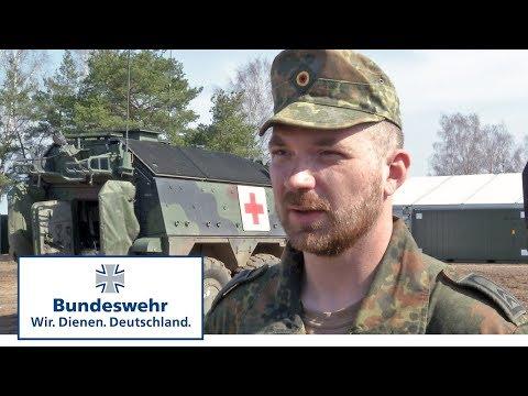 Notfallsanitäter in Litauen - Bundeswehr
