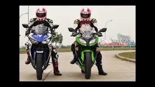 Yamaha R25 vs Kawasaki Ninja 250 FI comparison