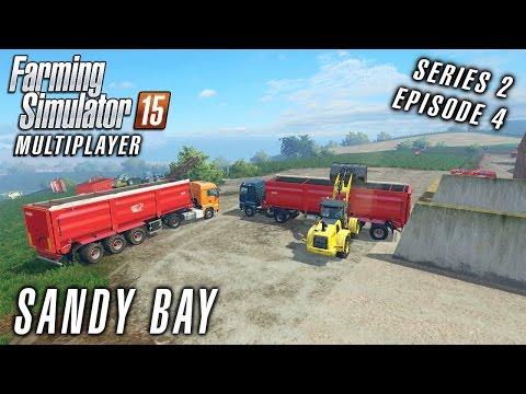 Multiplayer Farming Simulator 15 | Sandy Bay S2 Ep4