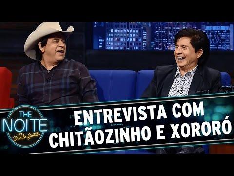 The Noite (25/02/16) - Entrevista Com Chitãozinho E Xororó
