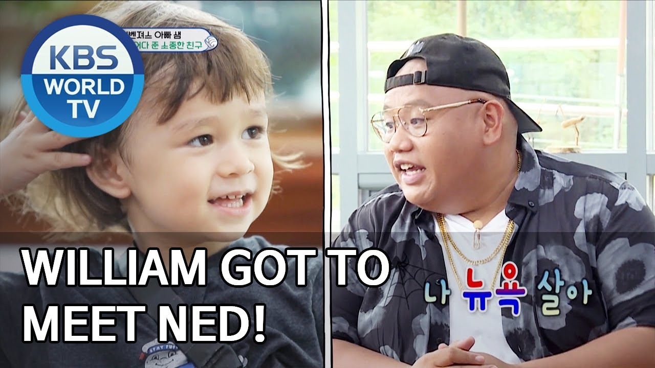 Download William got to meet Ned! [The Return of Superman/2019.10.13]