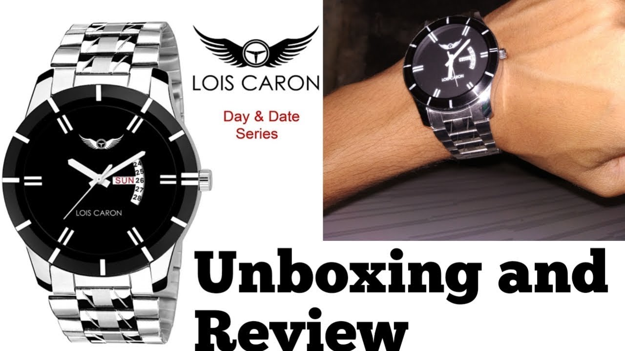 b1b0db92360 Lois Caron watch unboxing and review - YouTube