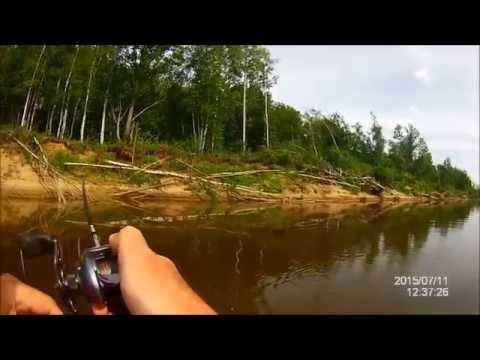 рыбалка в реке колпь видео