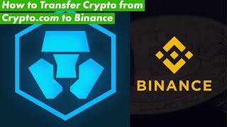 How to transfer Crypto¢urrency from Crypto.com to Binance. Spoiler High Fees
