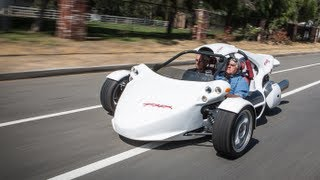 2013 Campagna Motors T-REX. Get ready to get down on three wheels! ...