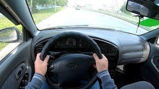 2009 KIA Spectra 1.6 (101) POV TEST DRIVE