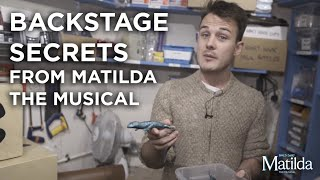 Backstage Secret #1 - Props Room | Matilda The Musical