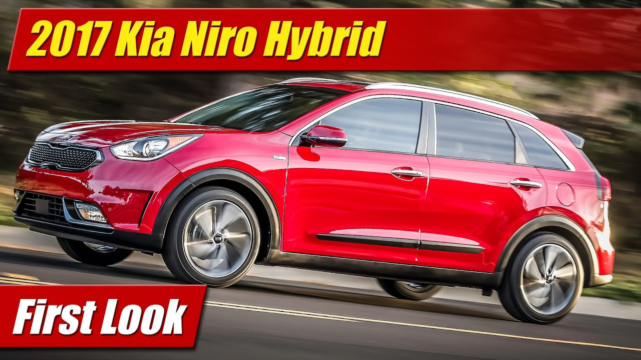 2017 kia niro hybrid first look youtube. Black Bedroom Furniture Sets. Home Design Ideas