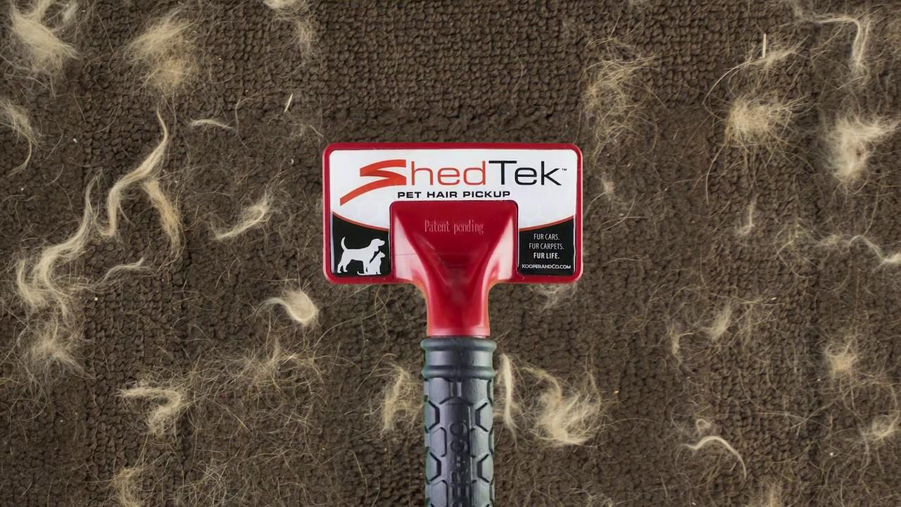 Shedtek Amazing Pet Hair Pickup Tool Youtube
