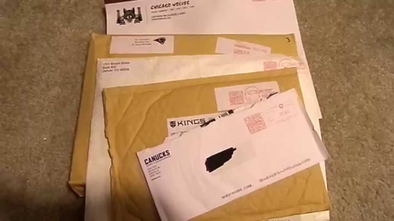 5 Fan Pack Mailday I Pick Up 2 11 15