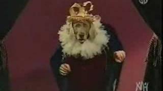 Sesame Street William Wegman's Weimaraner Is A King