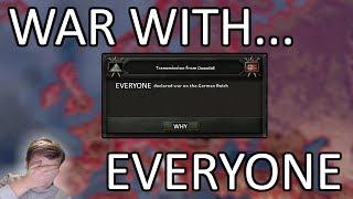HOI4 - Endsieg meets Ragnarok! - 1936 WAR WITH EVERYONE!!! - Downfall mod