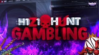 H1Z1Hunt GAMBLING! Coinflippin' and Jackpots! EXCLUSIVE GIVEAWAY