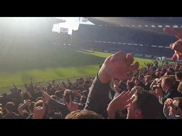 2018-2019 - Club Brugge-Racing Genk - Feestje Na De Overwinning