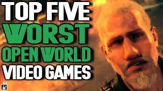 Top Five Worst Open World Video Games - rabbidluigi