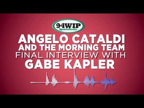 Gabe Kapler Final Interview Of the Season with Angelo