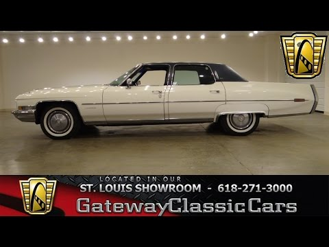 1972 Cadillac Fleetwood - Gateway Classic Cars St. Louis - #6260