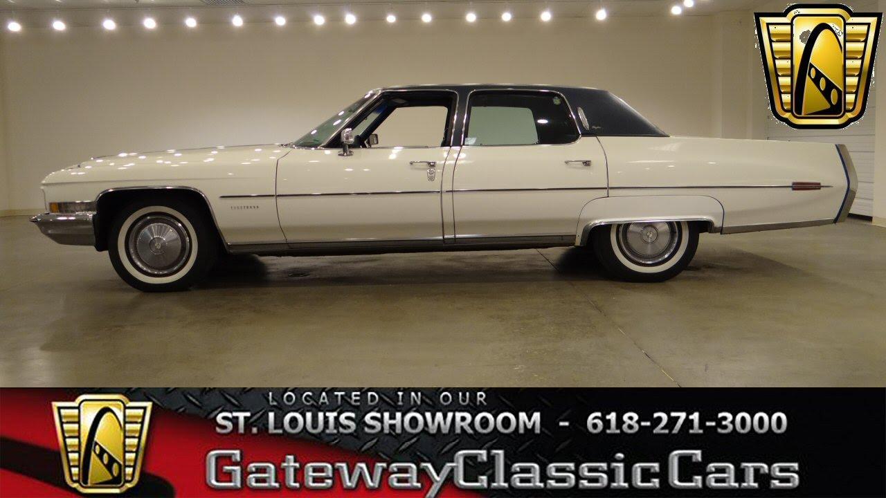 1972 Cadillac Fleetwood - Gateway Clic Cars St. Louis - #6260 ...