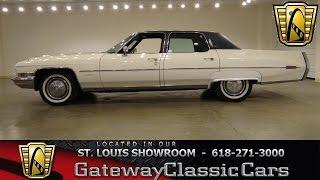 1972 Cadillac Fleetwood - Gateway Classic Cars St. Louis - #6260