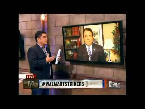 Rep. Alan Grayson Supports Walmart Strikers