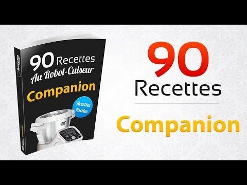Livre 90 Recettes Au Robot Cuiseur Companion