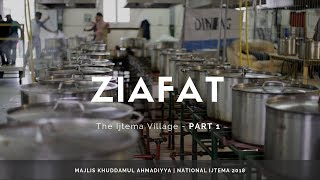 MKA UK Ijtema 2018 - The Ijtema Village - Ziafat - PART 1