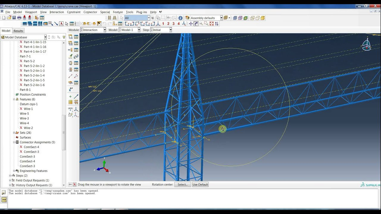 2016 Bmw M5 >> Abaqus : Tower Crane Design - YouTube