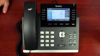 Yealink T46G - Making and Receiving Calls