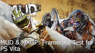 MUD & MXGP Resolution Hack Framerate Test for PS Vita
