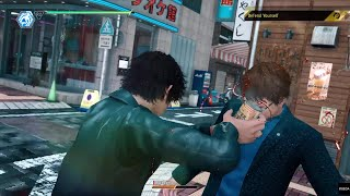 Judgment - Yagami Teaches Street Thugs Drinking Alcohol Is Bad For Their Health