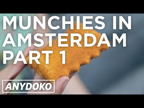 The Best Snack Food For Stoners in Amsterdam (Part 1) - Featuring Weed Brownies and Bitterballen!