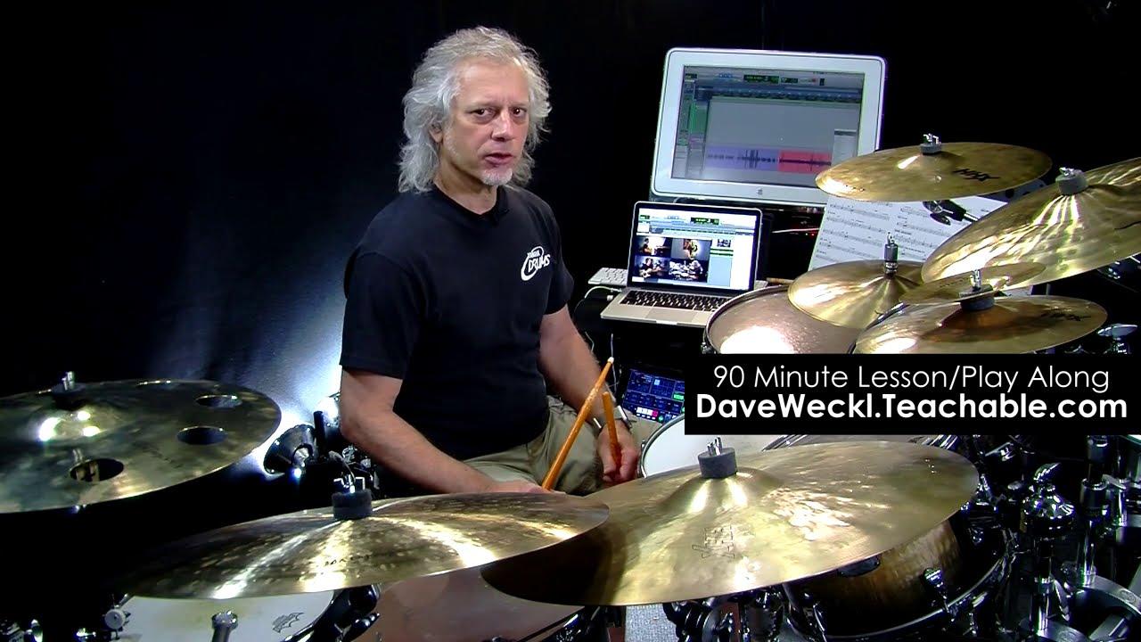 Dave Weckl Teaches Latin-Inspired Jazz: Pt. 4