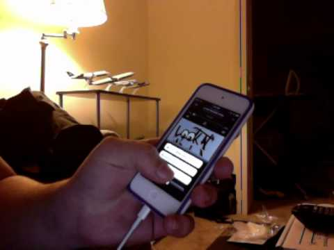 ipod touch music player bug