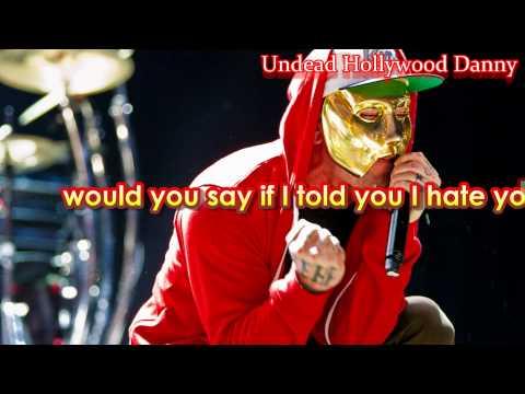 Hollywood Undead - Dead Bite Lyrics FULL HD ( with Old Masks )