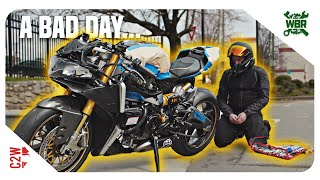 THIS Panigale is GOING TO KILL ME! [Wrecked Bike Rebuild - Ep 29 - 2016 Ducati 959 Panigale]