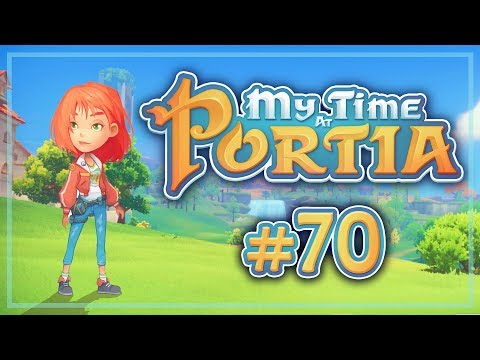 Прохождение My Time At Portia #70 Пополнение