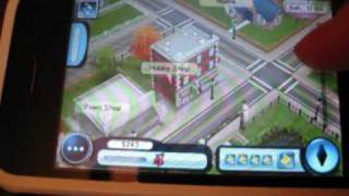 Sims 3 for iPhone Review and Gameplay, iPod Touch