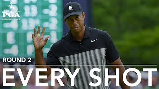 Tiger Woods | Every Shot from His 2nd-Round 73 at the 2019 PGA Championship