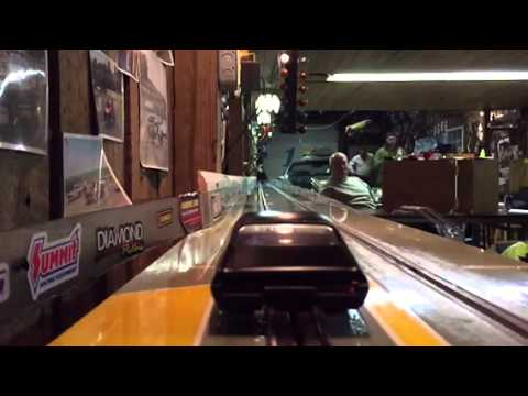 Drag Slot Car Pro Track Tire Comes Unglued Youtube
