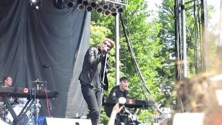 Cold Cave - Youth and Lust - Live at Pitchfork Music Festival 07/16/2011