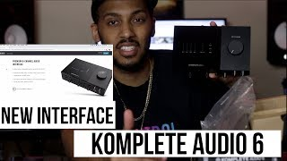 New Komplete Audio 6 MK2 Interface From Native Instruments