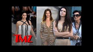 Kendall Jenner Vying for Gisele's Modeling Crown! | TMZ
